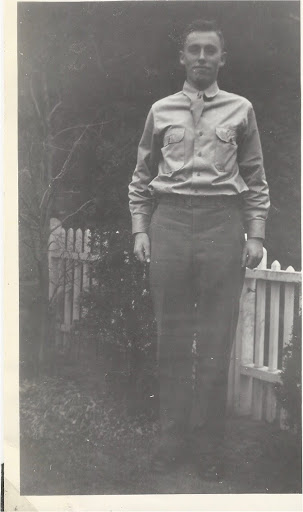 Bill Laughlin after WWII